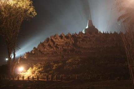 Visto desde cualquier ángulo el templo resulta impresionante