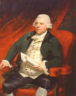 Richard Arkwright, pionero en la fabricación de maquinas al inicio de la revolución industrial