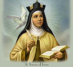 Sta Teresita de Jesús, una de las fundadoras de la órden de los carmelitas