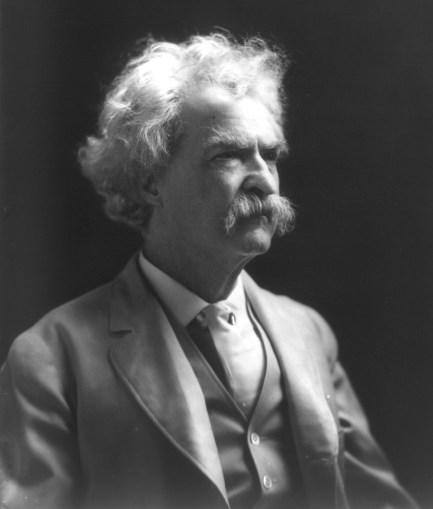 Mark Twain humorista y escritor estadounidense