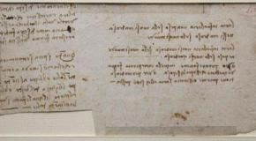 Nuevo manuscrito de Da Vinci