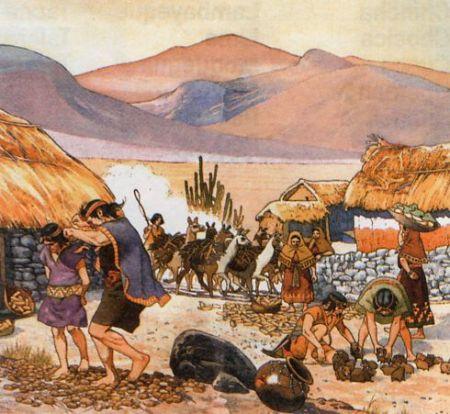 Como era la econom a de los incas e historia es for Arquitectura quechua