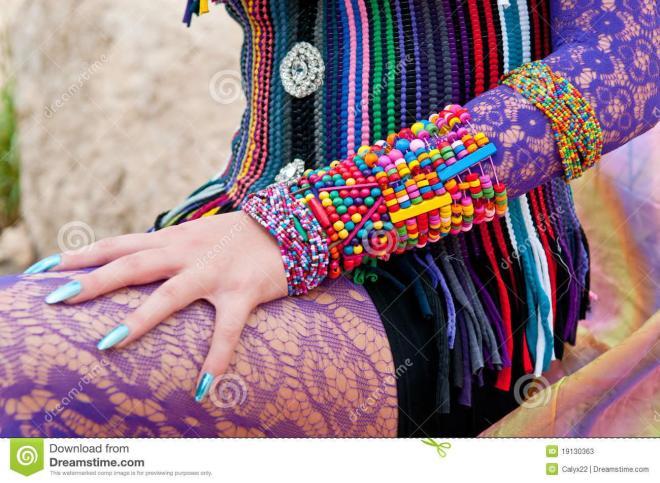 Accessoires ethniques