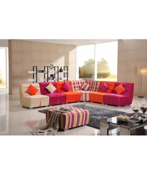 Canapé couleur