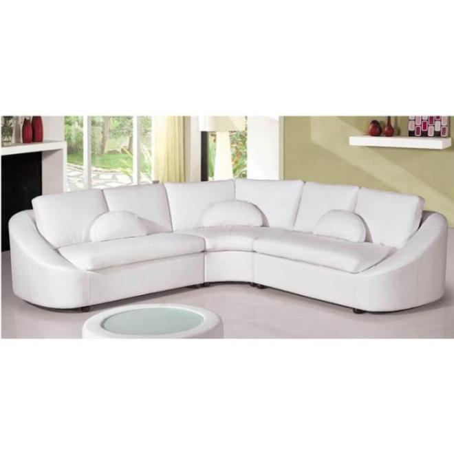 Canapé d'angle arrondi