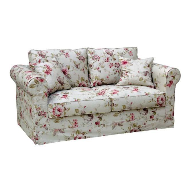 Canapé fleuri style anglais