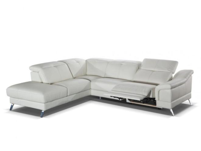 Canape cuir angle relax