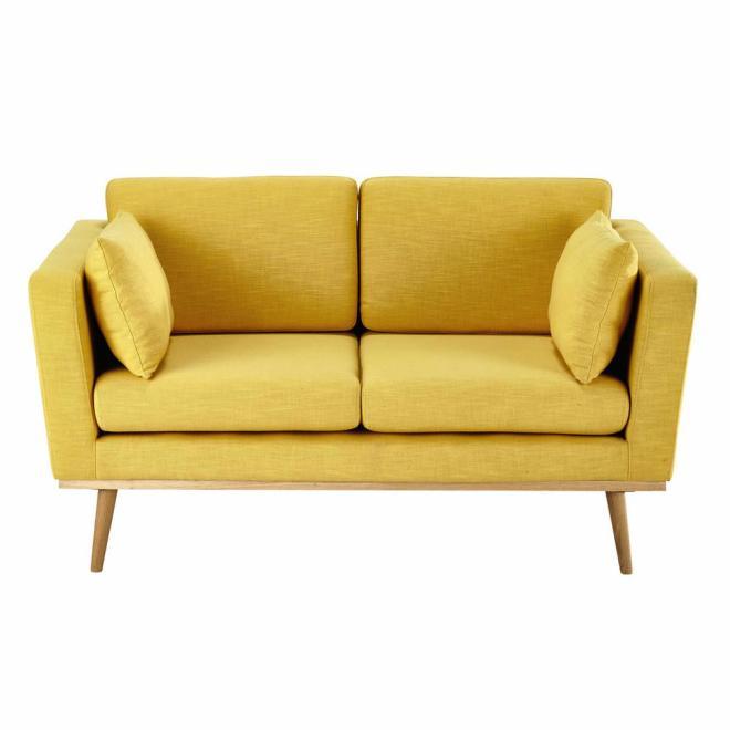 Canape jaune