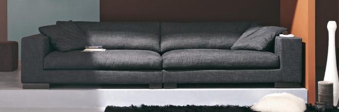 Canape tissu haut de gamme