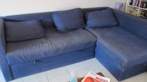 Comment refaire un canapé en tissu