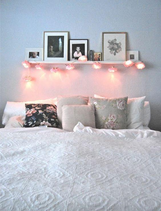 Etagere dessus de lit