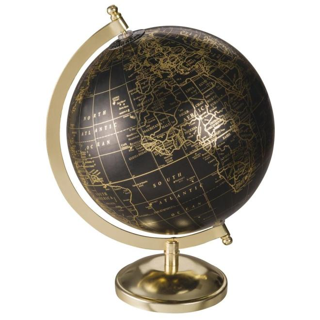 Globe terrestre deco