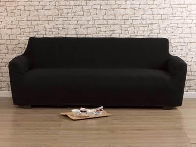 Housse de canapé noire