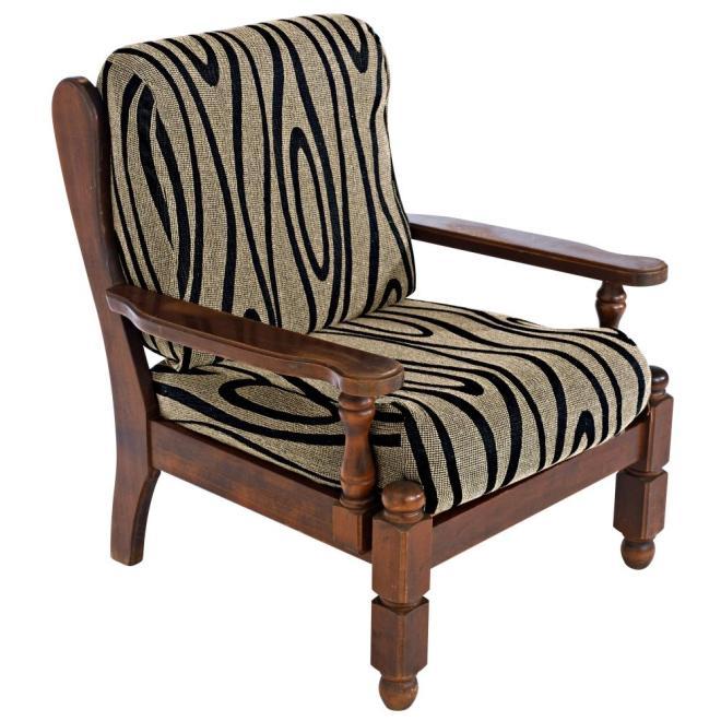 Housse fauteuil rustique