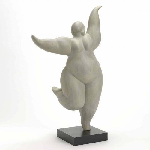 Statuette femme ronde