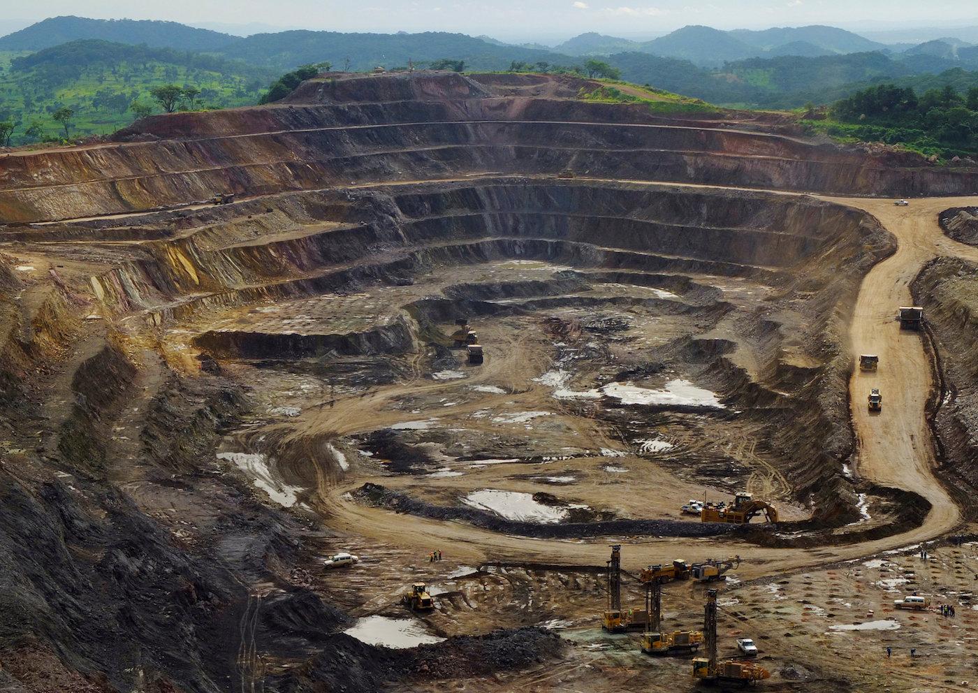 Eine Kobalt- und Kupfermine im Kongo. (Reuters)