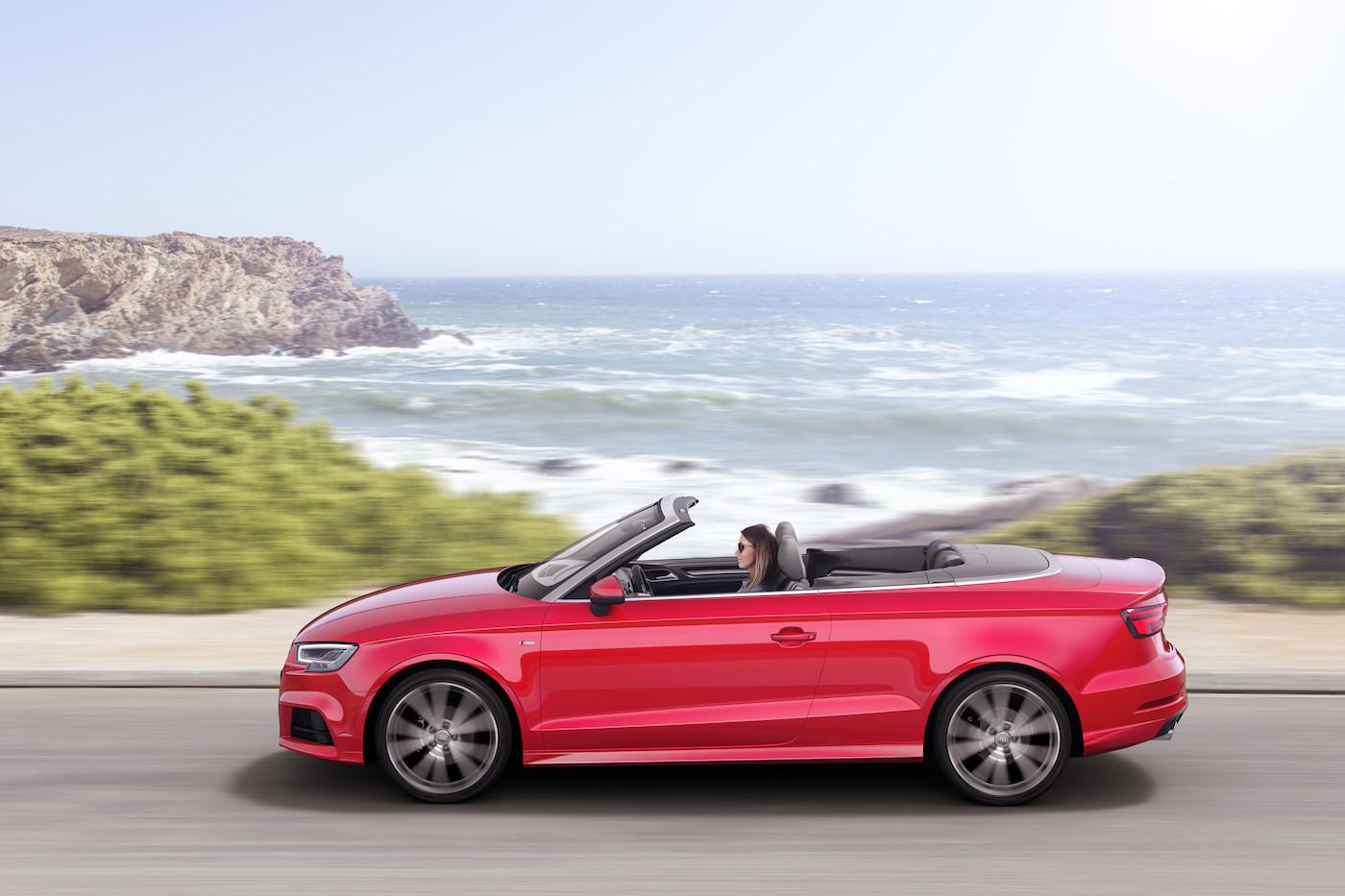 Perfekt für den Sommer: Mobility hat auch Audi-A3-Cabrios im Angebot. (Audi)