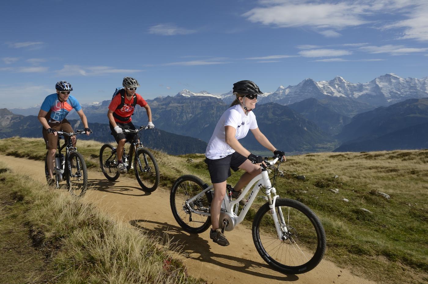Bei den E-Bikes ist die Schweiz spitze: Marken wie Flyer, Stromer und Stöckli bieten Schweizer Ingenieurskunst an. (Keystone)
