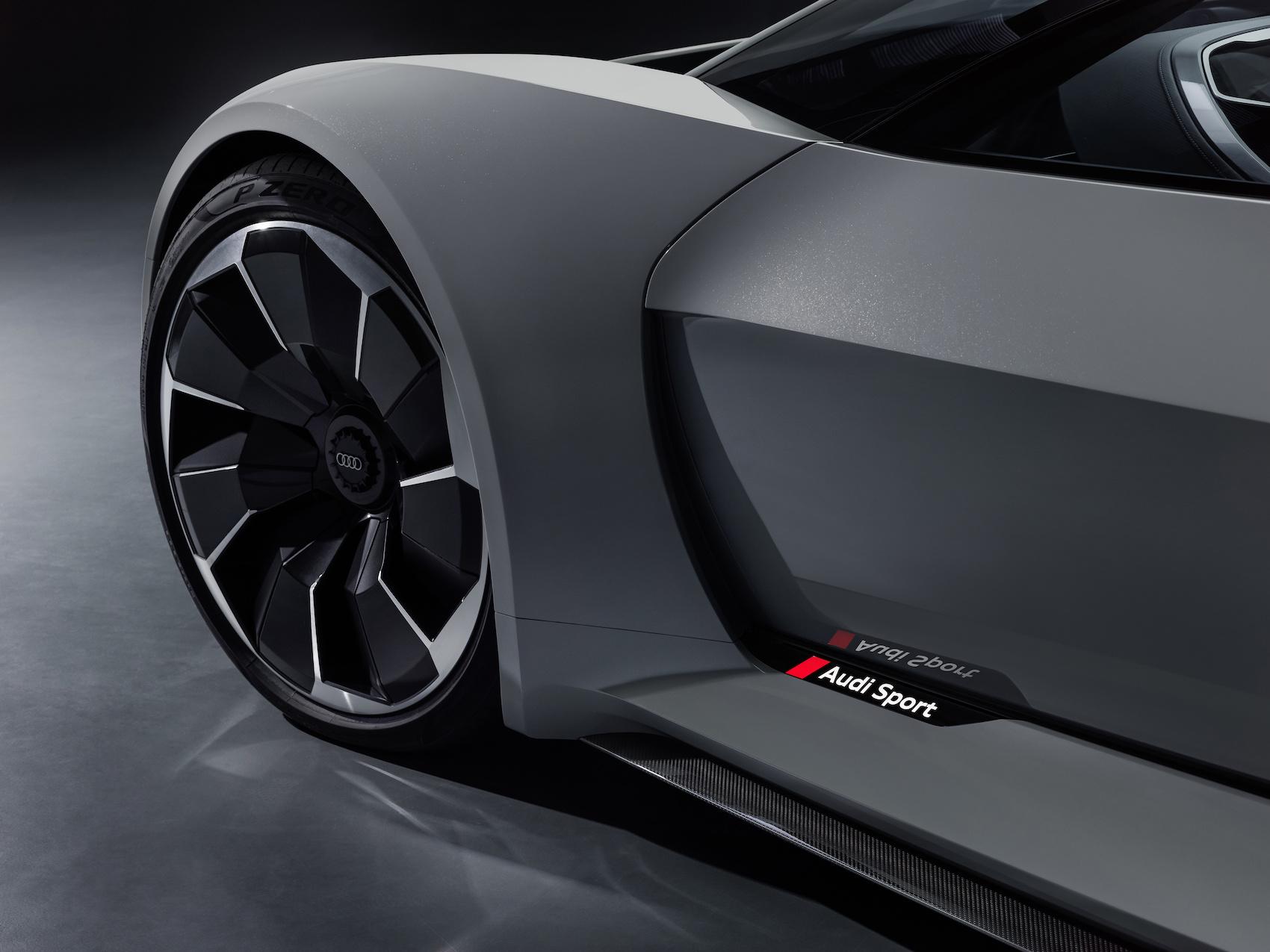 Designed by Audi in California: Die Linienführung des PB18 entstand im neuen Audi Designstudio in Malibu. (AUDI)