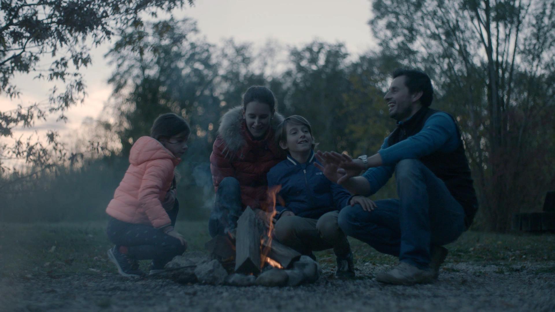 Les Petitpierre adorent les sorties en famille.