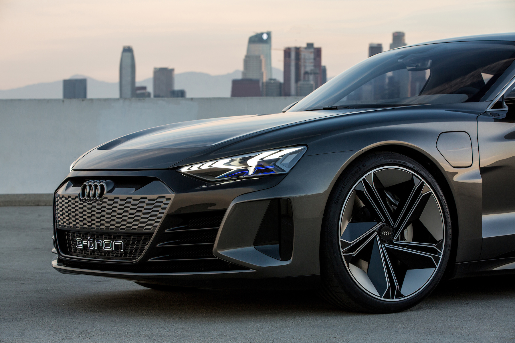 L'Audi e-tron GT fa parte della gamma 2020. (AUDI)