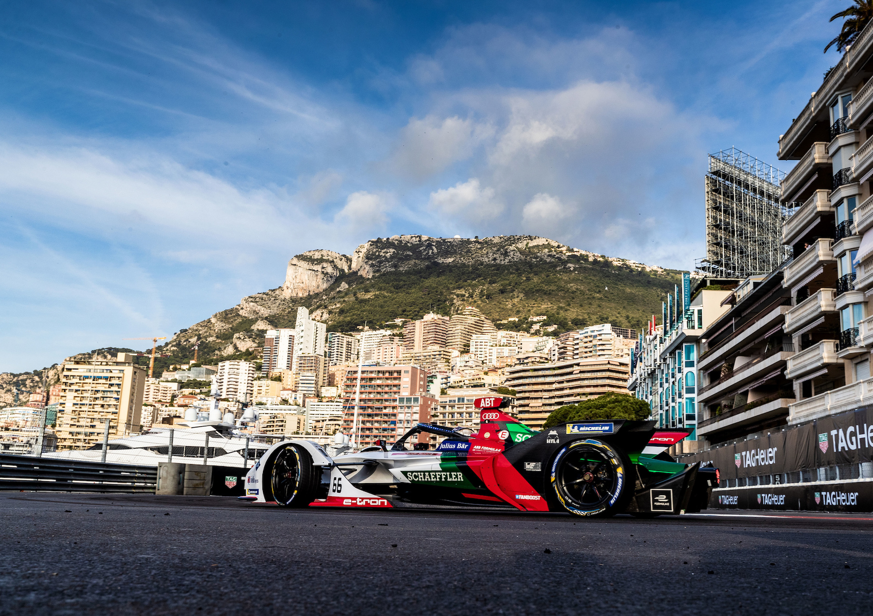 Quest'anno il calendario prevede una corsa anche a Monaco. (Audi Communications Motorsport/Michael Kunkel)