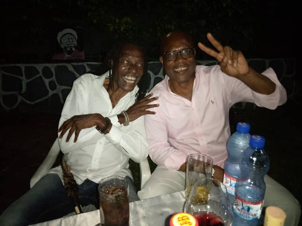 Papa Wemba fêté par ses proches 4