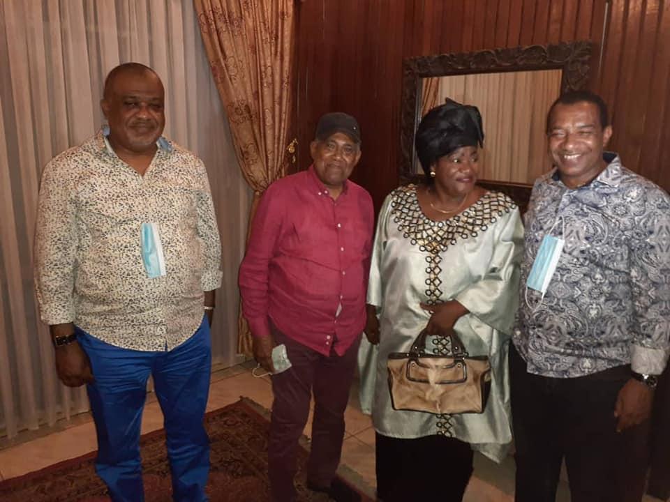 Papa Wemba fêté par ses proches 1