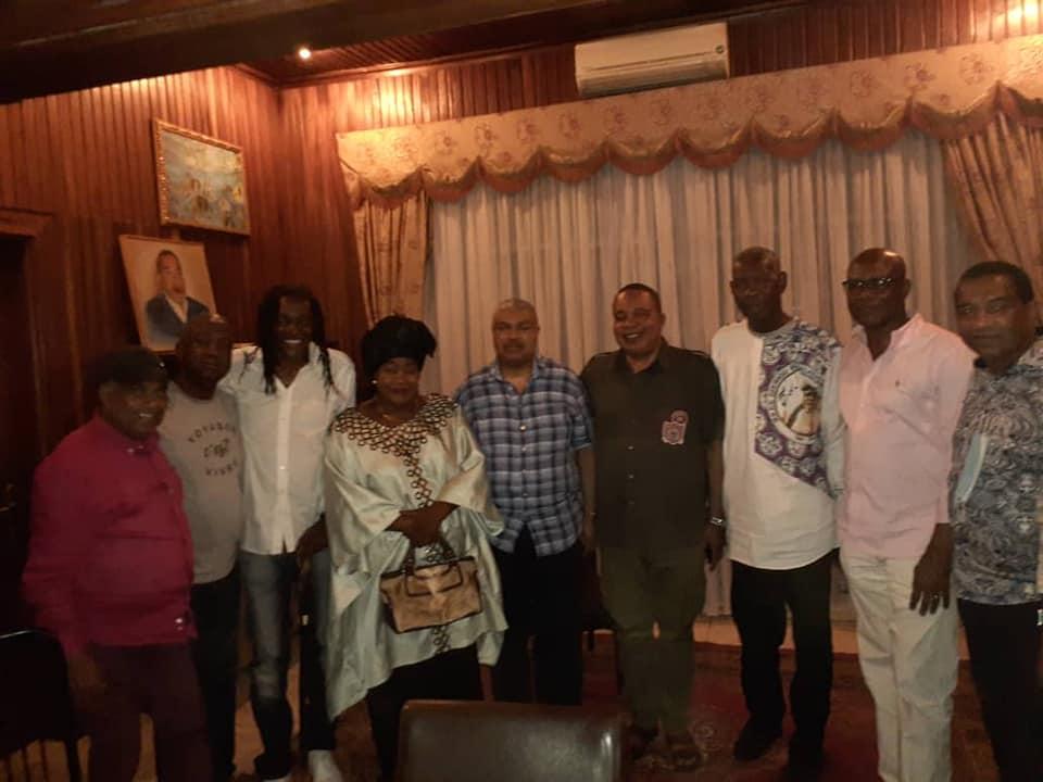 Papa Wemba fêté par ses proches 2