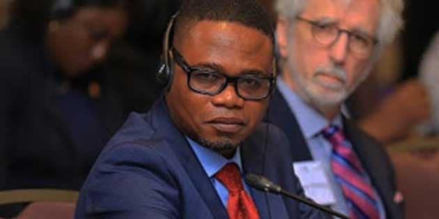 Désiré Casimir Kolongele Eberande désigné directeur de cabinet ad intérim du Chef de l'État. 1