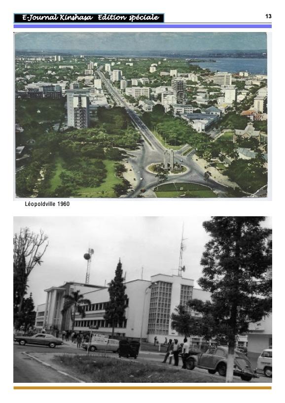 Léopoldville de 1923 à 1960 13