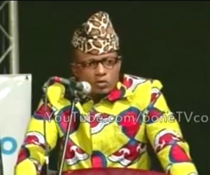 Sony Kamana, passionné de la mode et de la musique, imitateur de Mobutu 1
