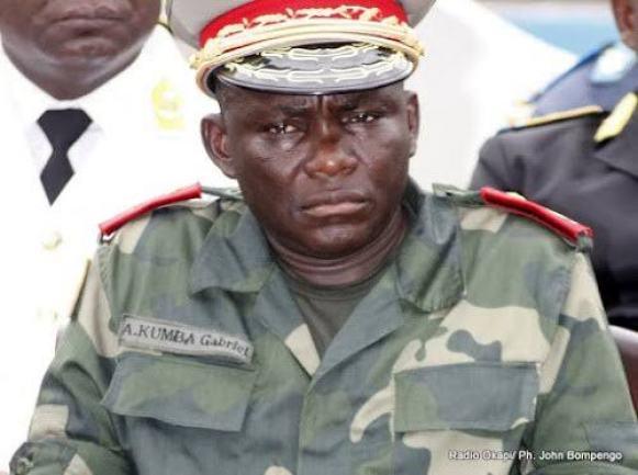 Amisi KUMBA Tango Fort remplace le général John NUMBI. 1