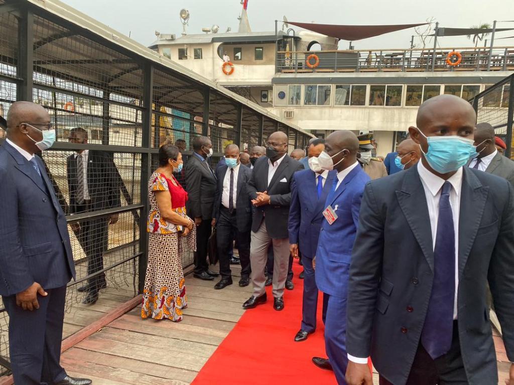 Félix Tshisekedi l'hôte de Denis Sassou-Nguesso 2