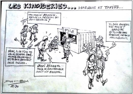 « Les Kinoiseries » vu par Djeis Djemba 1