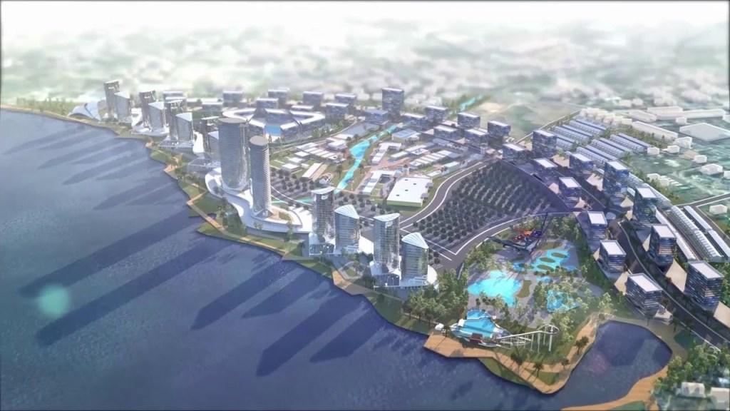 La construction de la Corniche de Kinshasa à la Baie de Ngaliema bientôt finalisée 1