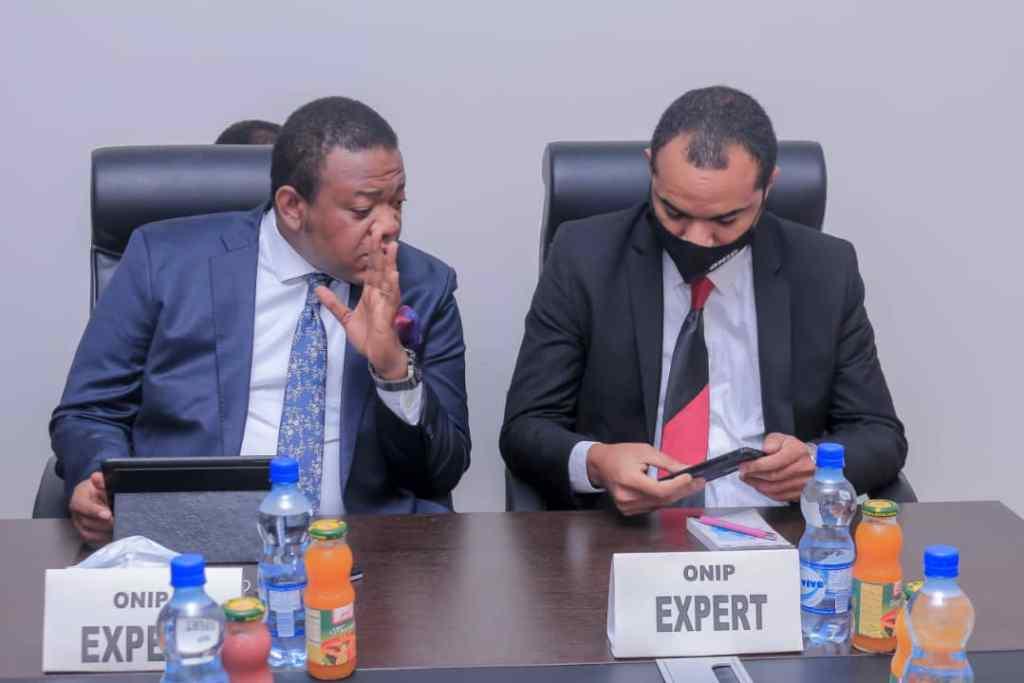 RDC: Le fichier général de la population au cœur des échanges entre le DG de l'ONIP, Richard Ilunga et une délégation de la présidence de la République 3