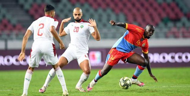 Maroc-RDC (1-1) 1