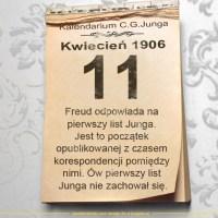 11 kwietnia 1906 - Kalendarz C. G. Junga