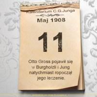 11 Maja 1908 - Kalendarz C. G. Junga