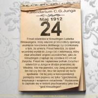 24 maja 1912 - Kalendarz C. G. Junga