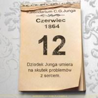 12 czerwca 1864 - Kalendarz C. G. Junga