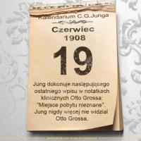 19 czerwca 1908 - Kalendarz C. G. Junga