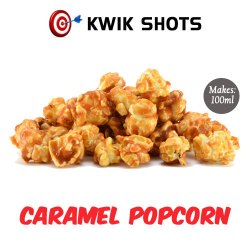 Kwik Shots - Caramel-Popcorn- One shot Flavour Concentrates | South Africa