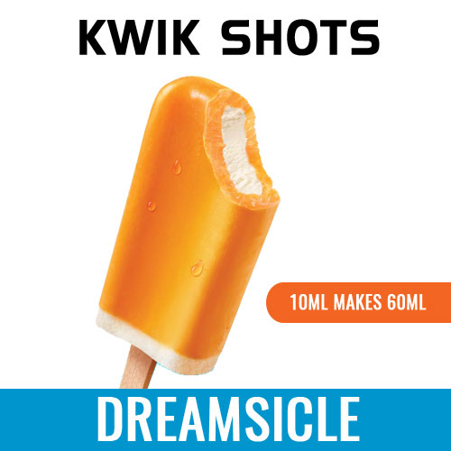 Kwik Shots - Orange-Dreamsicle - One shot Flavour Concentrates   South Africa