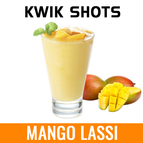 Kwik Shots | Mango-Lassi| One Shot Flavour Concentrates | South Africa