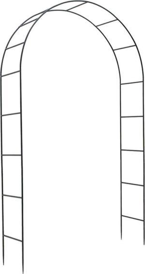 VERDEMAX 3449 ΑΨΙΔΑ ΜΕΤΑΛΛΙΚΗ 37Χ130Χ240cm