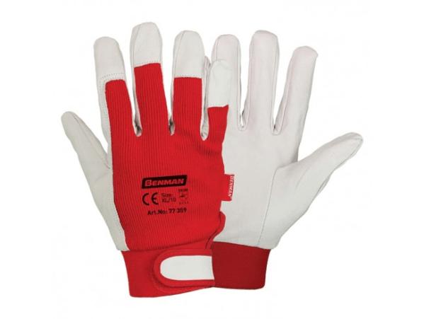 Benman Γάντια εργασίας δερματοπάνινα