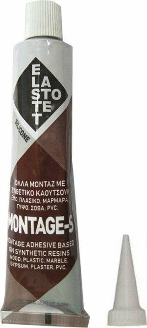 ELASTOTET MONTAGE-S ΚΟΛΛΑ ΔΙΑΦΑΝΗ 80ml