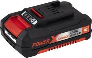 Einhell Σετ Ταχυφορτιστής & Μπαταρία Power X-change 18V 4,0Ah